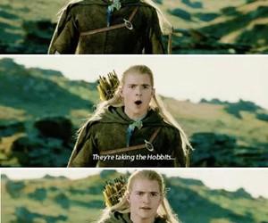 elf, hobbits, and isengard image