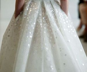 blush, crystal, and dress image