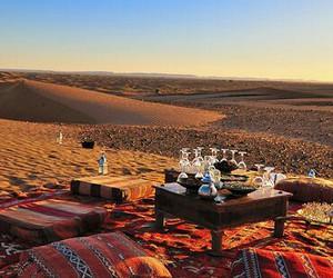 morocco, desert, and travel image