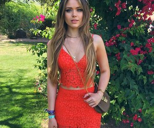 fashion, red, and coachella image