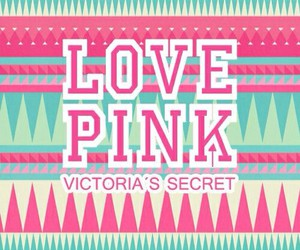 pink, wallpaper, and Victoria's Secret image