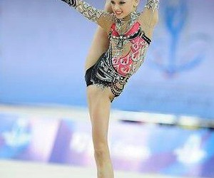 ball, russia, and rhythmic gymnastics image