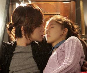 yoona, love rain, and jang geun suk image