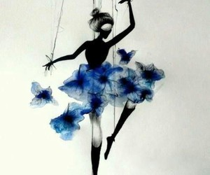 art, dance, and puppet image