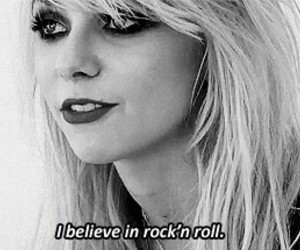 Taylor Momsen, rock, and black and white image