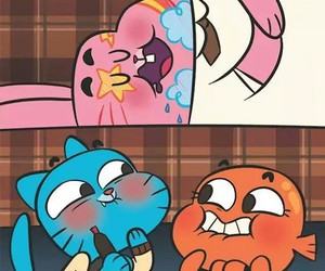 gumball and wallpaper image