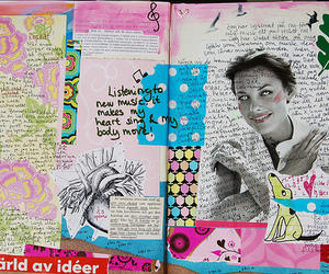 art, butterfly, and Collage image