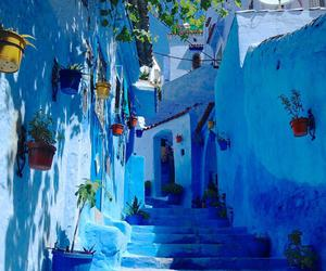 morocco and chefchaouen image