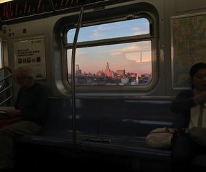 city, tumblr, and train image