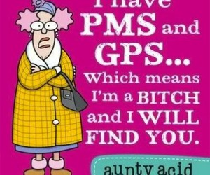 bitch, funny, and PMS image