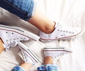 baby, converse, and fashion image