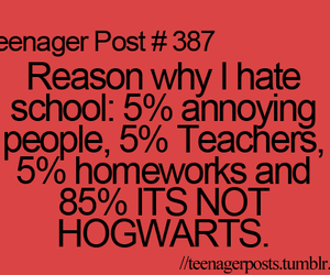 hogwarts, school, and harry potter image