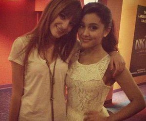 bella thorne and ariana grande image