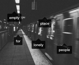 empty, grunge, and lonely image