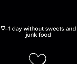 fitness, junk food, and motivation image