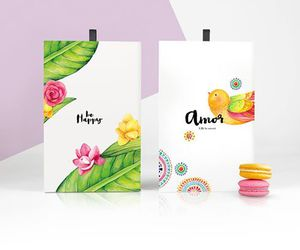 amor, flowers, and food image