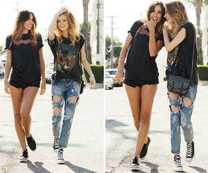 grunge, hair, and jeans image