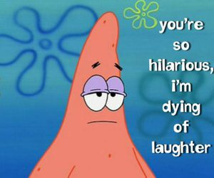 funny, hilarious, and spongebob image