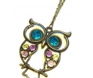 jewelry, necklace, and owl necklace image
