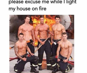 aw, firefighters, and follow image