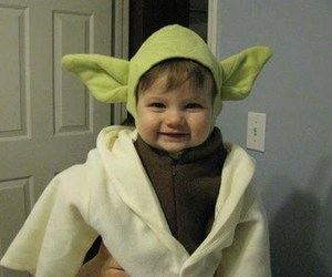 child, yoda, and cute image