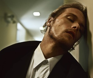 beard, Hot, and sam heughan image
