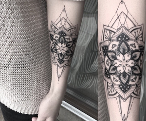 tattoo and mandala image