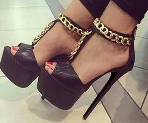 shoes, black, and cute image