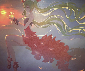 anime, vocaloid, and beautiful image