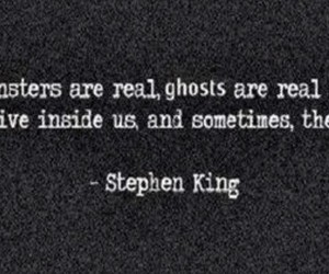 quotes, ghost, and Stephen King image