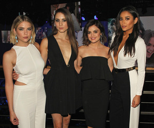 city, lucy hale, and troian bellisario image