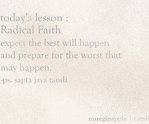 faith, lesson, and quotes image