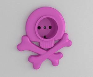 pink, socket, and design image