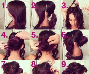 hairs, cabello, and peinados image