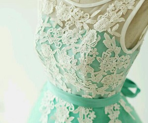 dress, lace, and pretty image