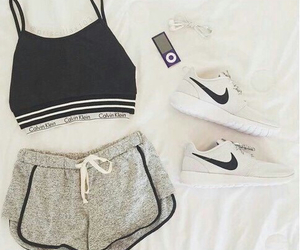 Calvin Klein, fit, and outfit image