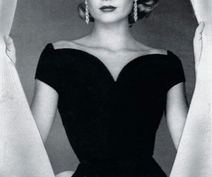 grace kelly, princess, and vintage image