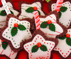 baked goods, embroidery, and gingerbread image