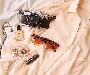 camera, sunglasses, and canon image
