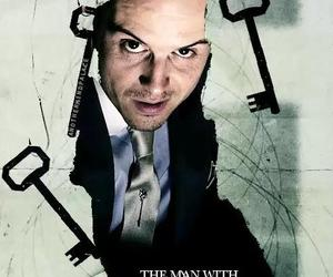 andrew scott and jim moriarty image
