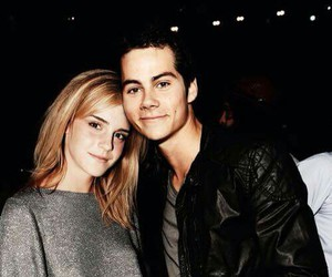 emma watson, dylan o'brien, and harry potter image