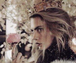 cara delevingne, model, and Queen image