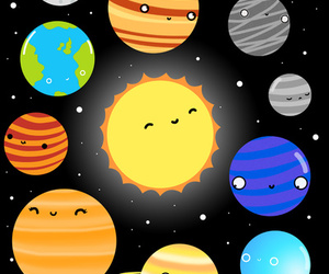 caricatura and planets image