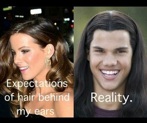 funny, lol, and hair image