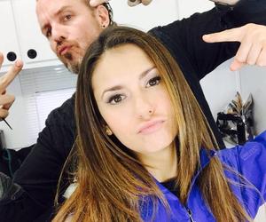 Nina Dobrev, tvd, and elena gilbert image
