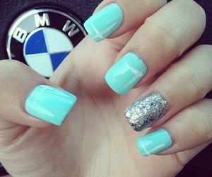nails, bmw, and blue image