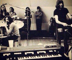 david gilmour, nick mason, and Pink Floyd image