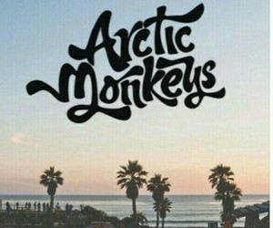 arctic monkeys and sunset image