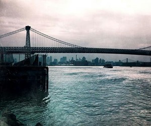 new york, river, and love image