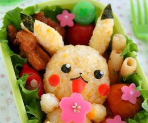 food, pikachu, and pokemon image